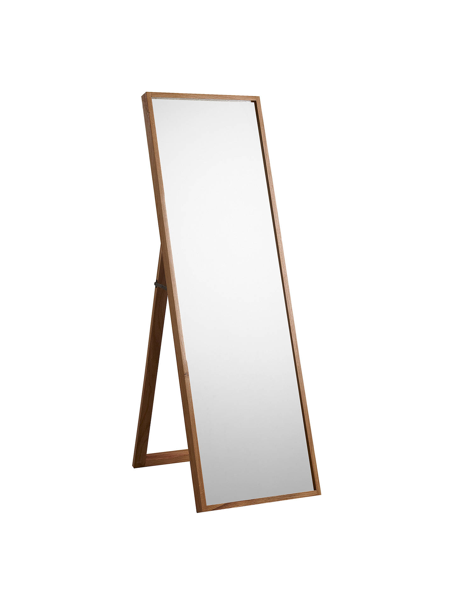Buy John Lewis & Partners Scandi Cheval Oak Mirror, 160 x 50cm, Natural Online at johnlewis.com