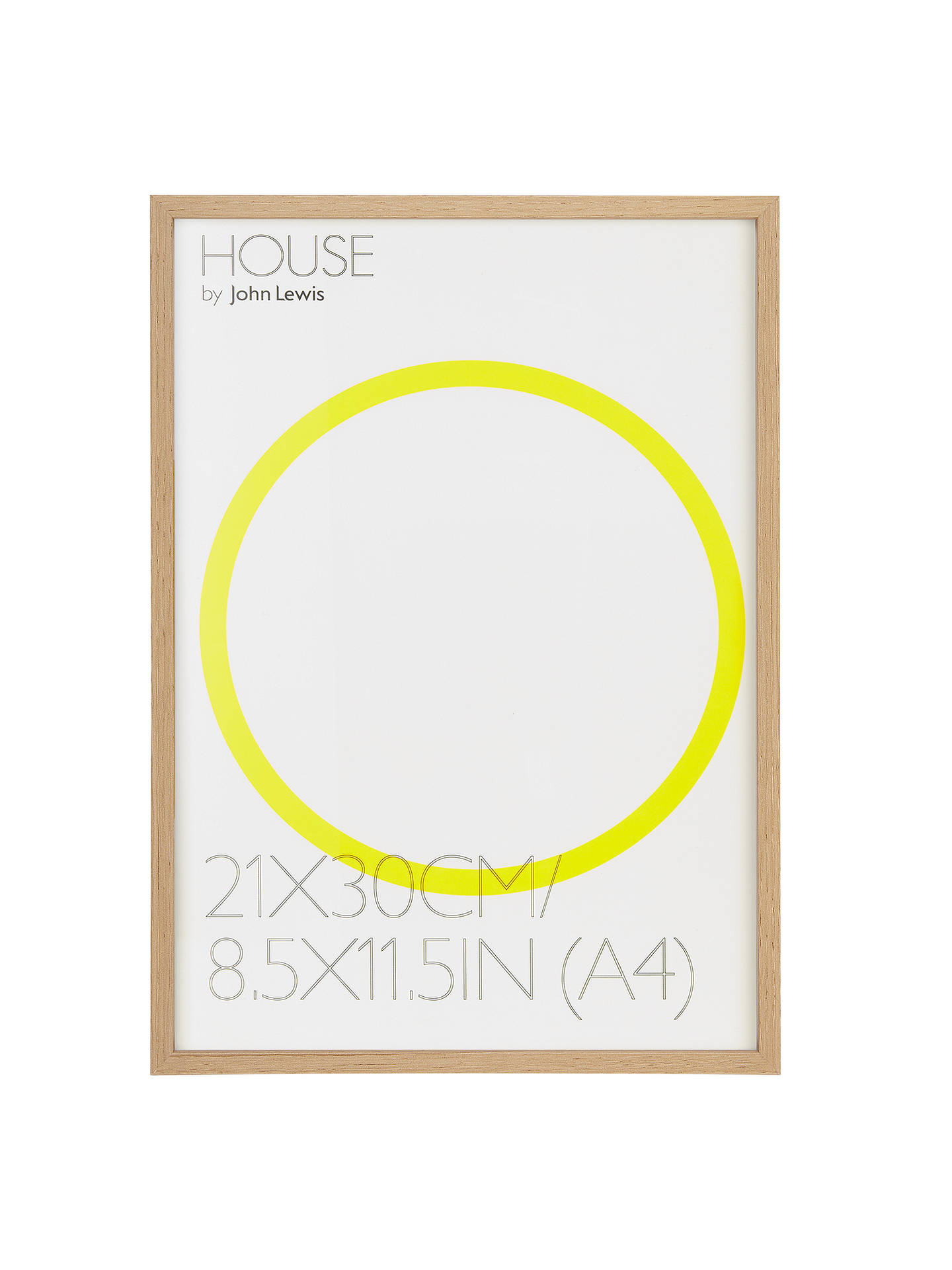 House By John Lewis Photo Frame A4 30 X 21cm At John Lewis Partners