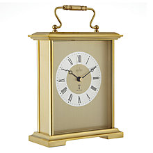Buy Acctim Radio Controlled Carriage Clock, Gold Online at johnlewis.com