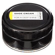 Buy John Lewis Polish Cream, 50ml, Black Online at johnlewis.com