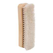 Buy John Lewis Horse Hair Large Shoe Brush Online at johnlewis.com