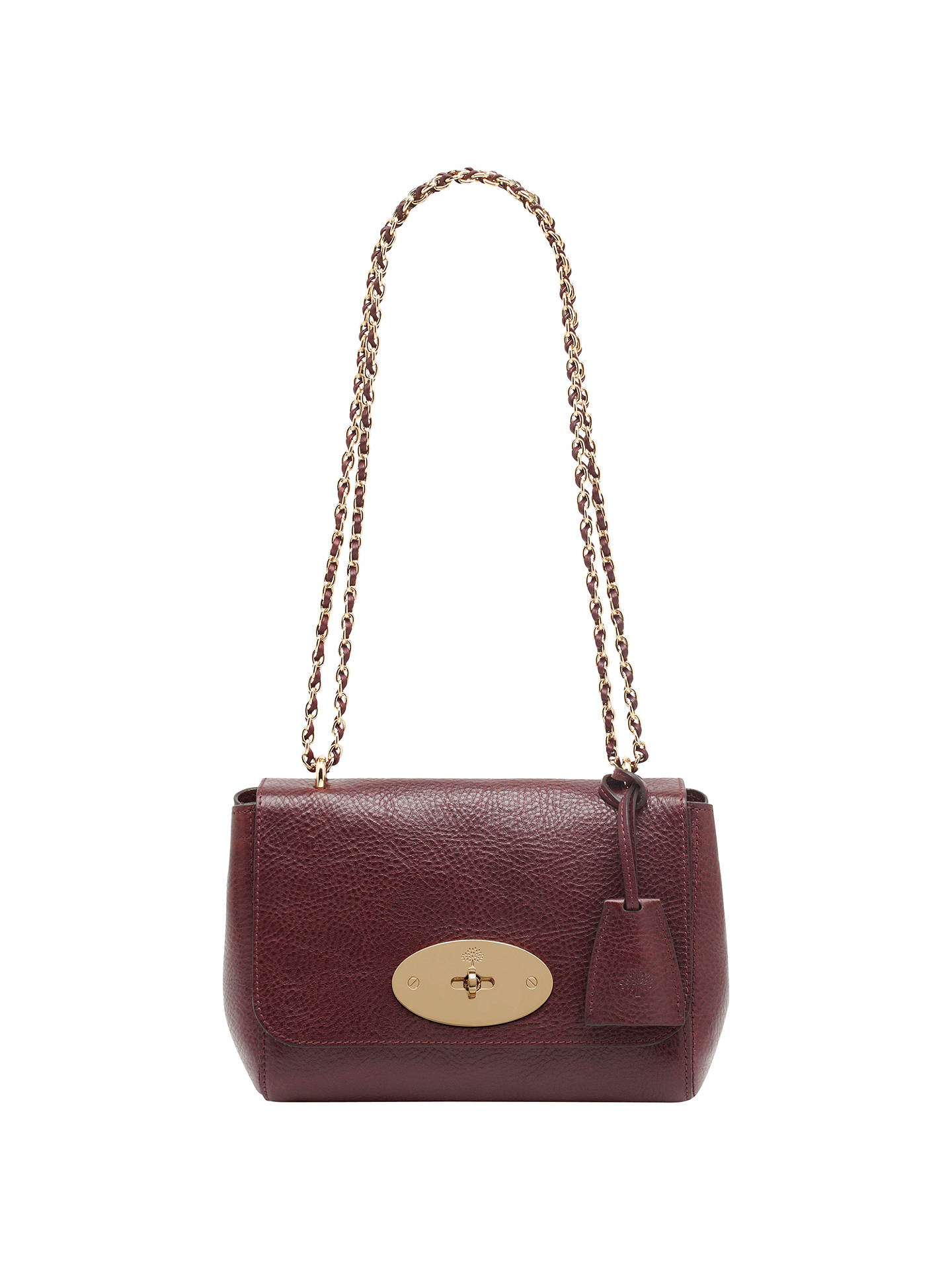 45c8385bc8 Mulberry Lily Small Leather Shoulder Bag at John Lewis   Partners