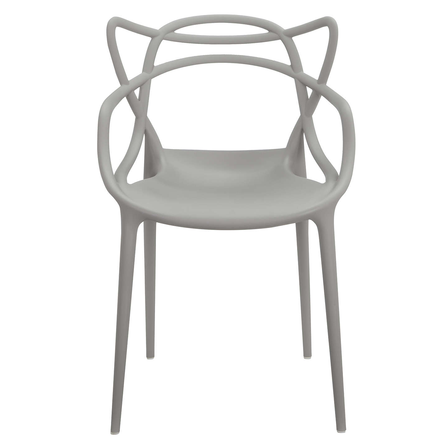 BuyPhilippe Starck for Kartell Masters Chair, Grey Online at johnlewis.com