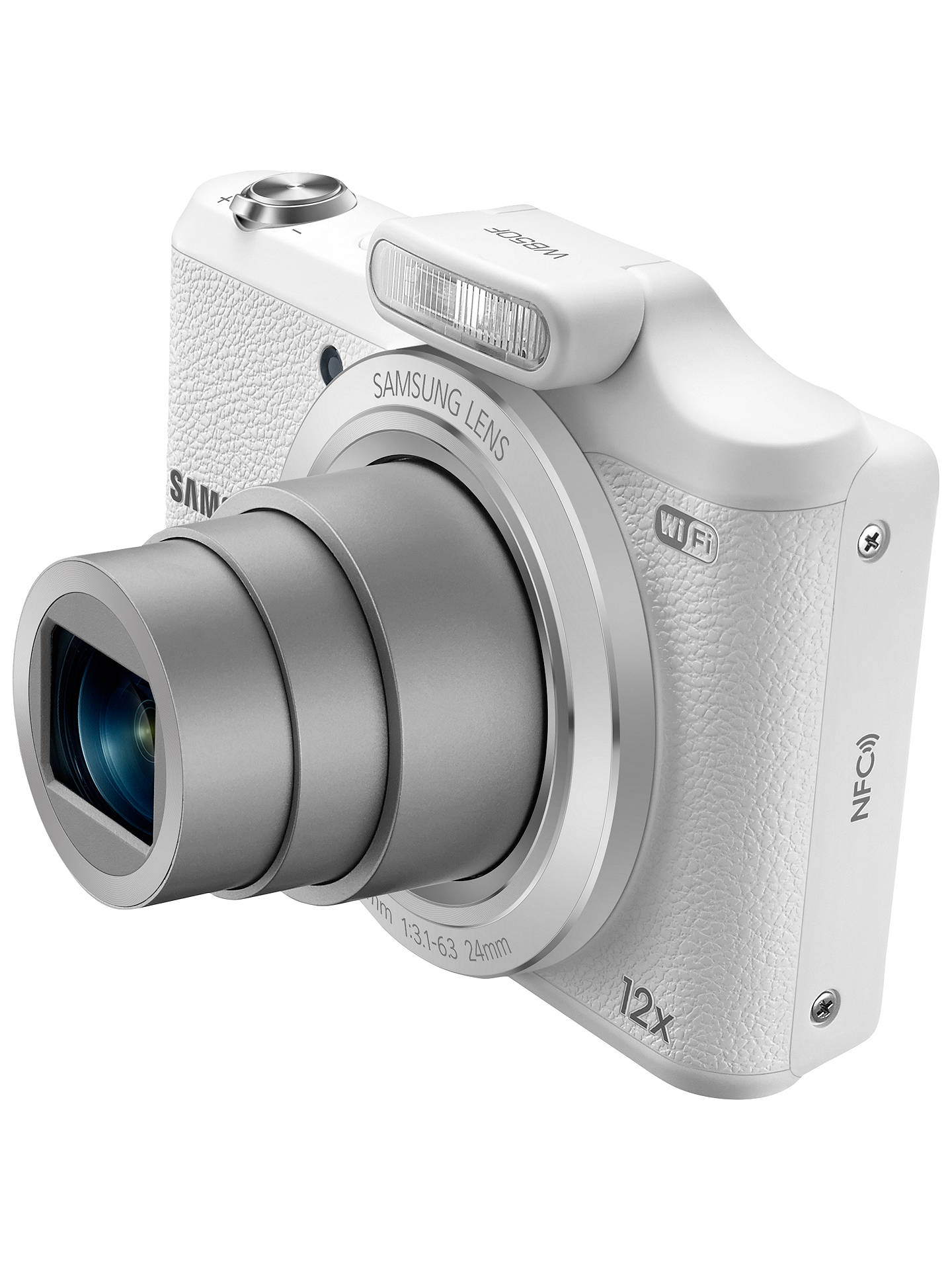 Samsung WB50F Digital Camera, HD 720p, 16MP, 12x Optical