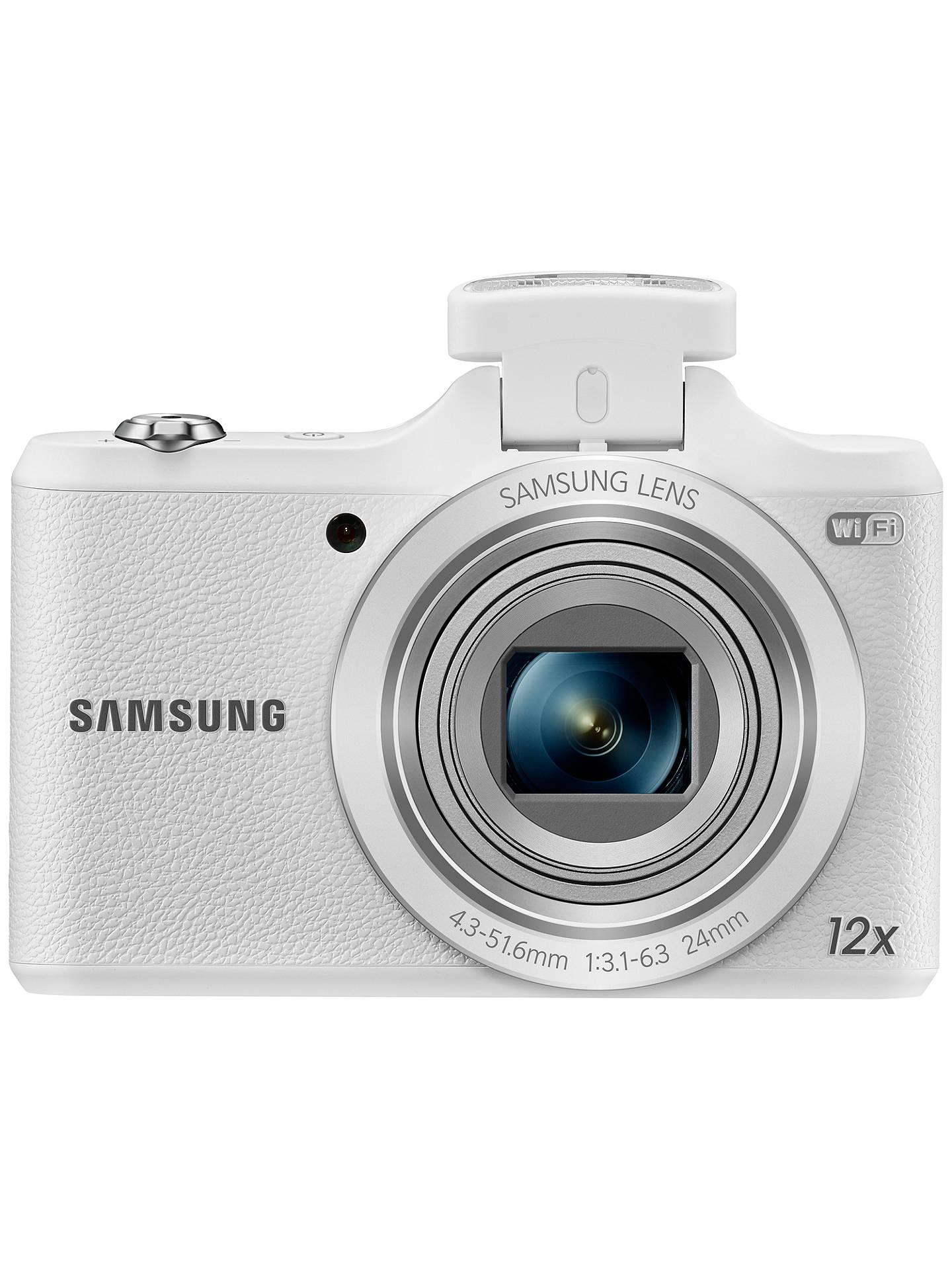 Samsung WB50F Digital Camera, HD 720p, 16MP, 12x Optical