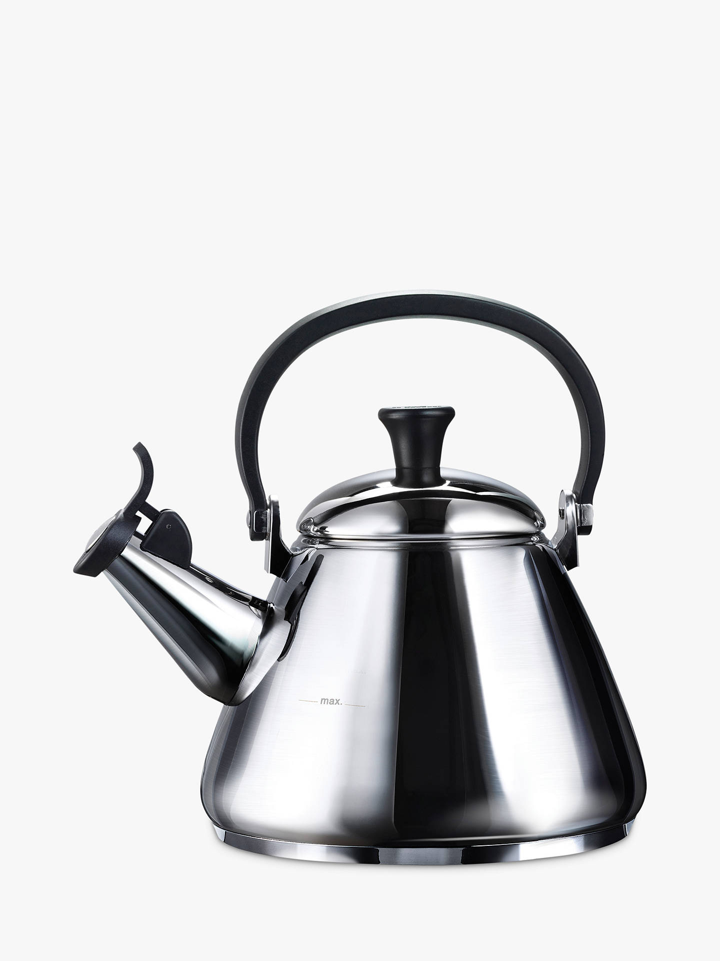 BuyLe Creuset Stainless Steel Kone Kettle, 1.6L Online at johnlewis.com