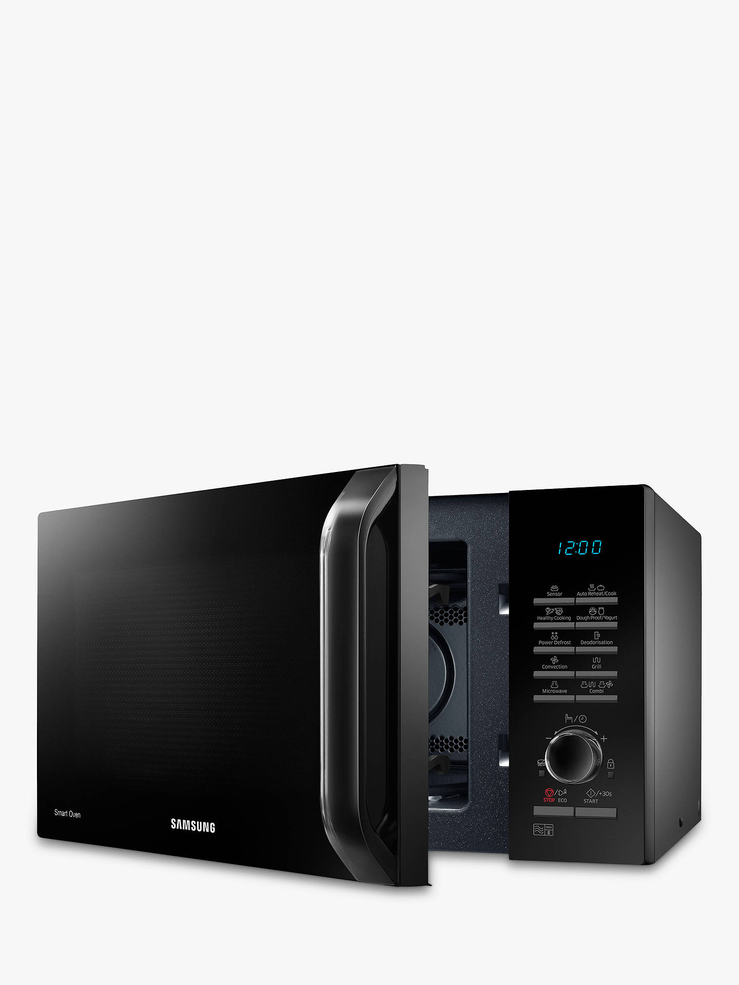 BuySamsung MC28H5125AK Combination Microwave Oven, Black Online at johnlewis.com