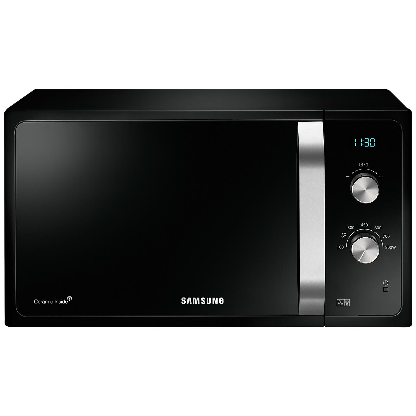 Samsung Ms23f301eak Solo Microwave Oven Black Online At Johnlewis