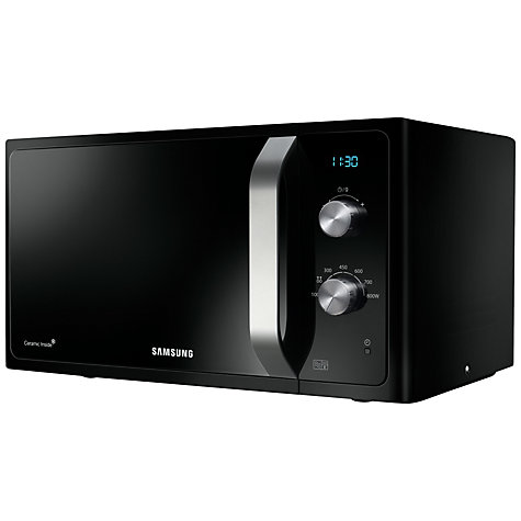 Buy Samsung MS23F301EAK SOLO Microwave, Black Online at johnlewis.com
