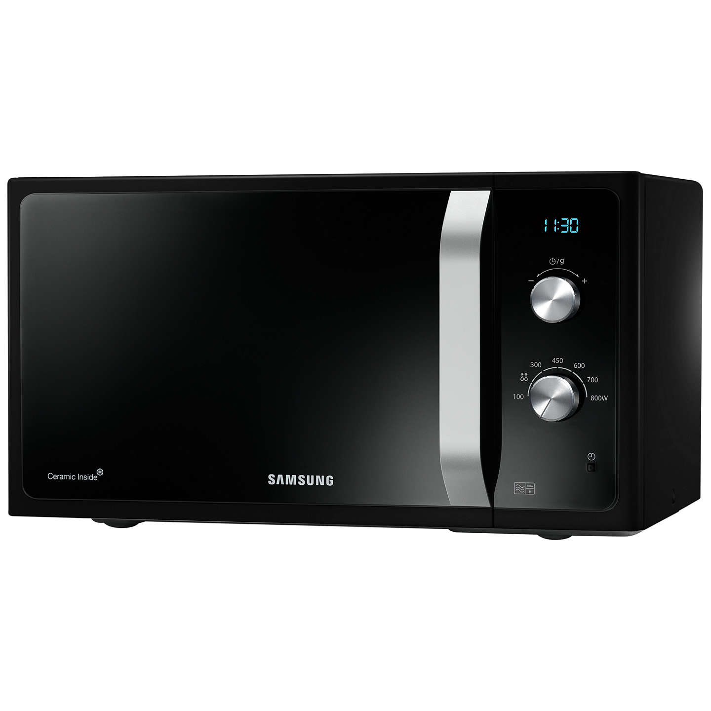 BuySamsung MS23F301EAK SOLO Microwave, Black Online at johnlewis.com