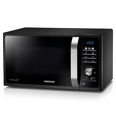 Buy Samsung Mg23f301tak Microwave With Grill Black John
