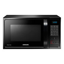 Buy Samsung MC28H5013AK Combination Microwave Oven, Black Online at johnlewis.com