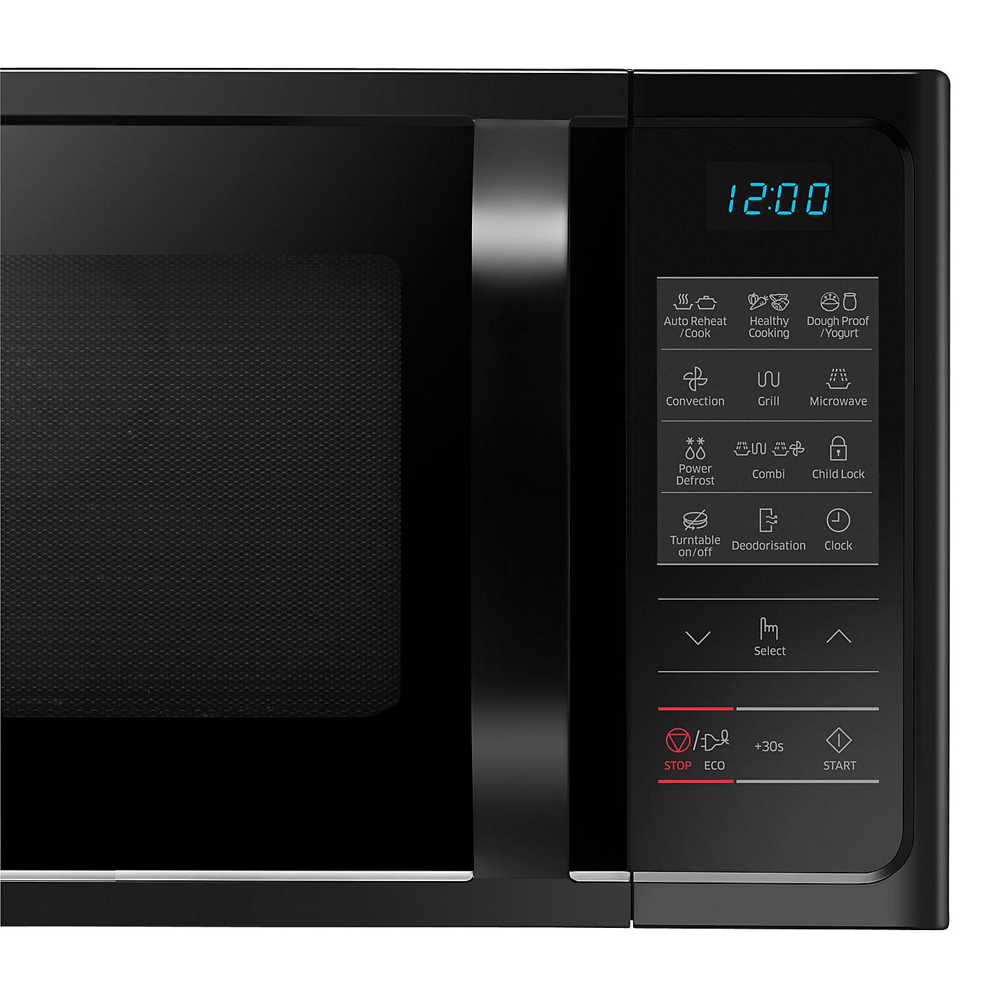 Black oven gloves john lewis -  Buy Samsung Mc28h5013ak Combination Microwave Black Online At Johnlewis Com