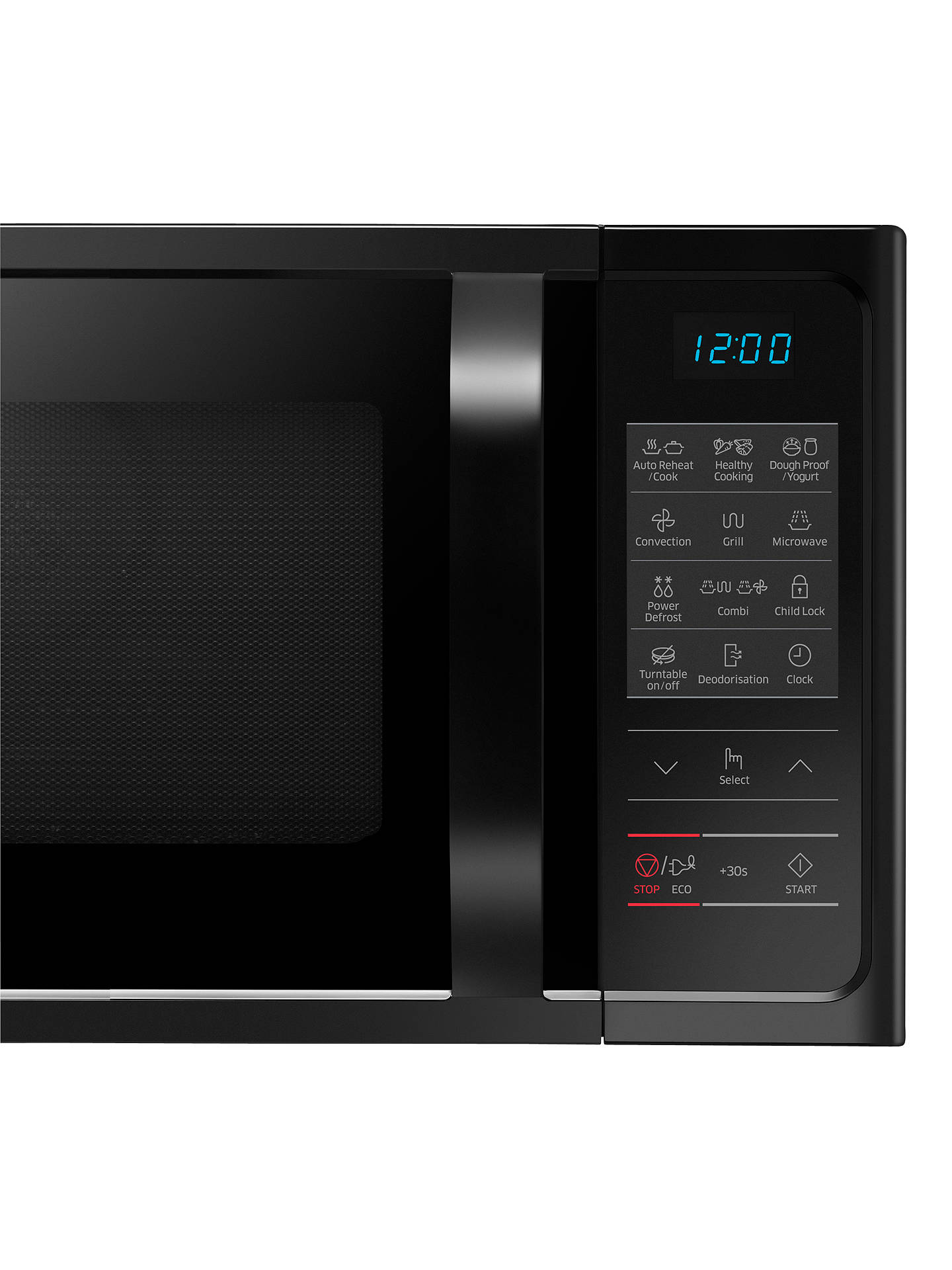 Samsung Mc28h5013ak Combination Microwave Oven Black At
