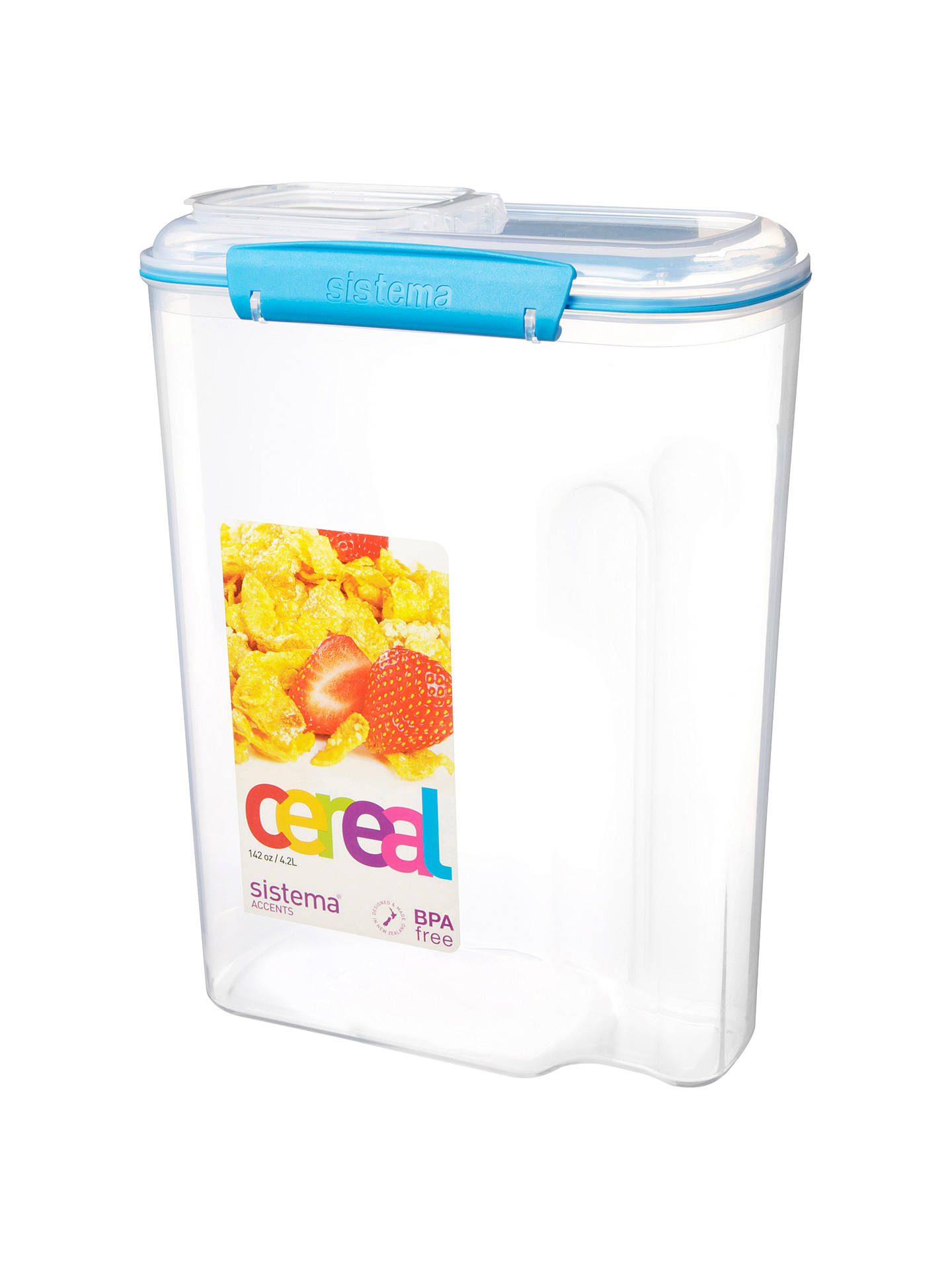 Buy Sistema Cereal Storage Container, 4.2L Online at johnlewis.com