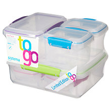 Buy Sistema To Go Food Storage Containers, Set of 6 Online at johnlewis.com