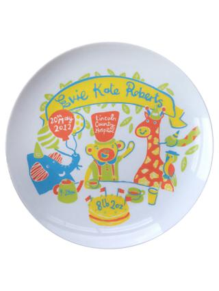 Ethel and Co Personalised Jungle Decorative Plate