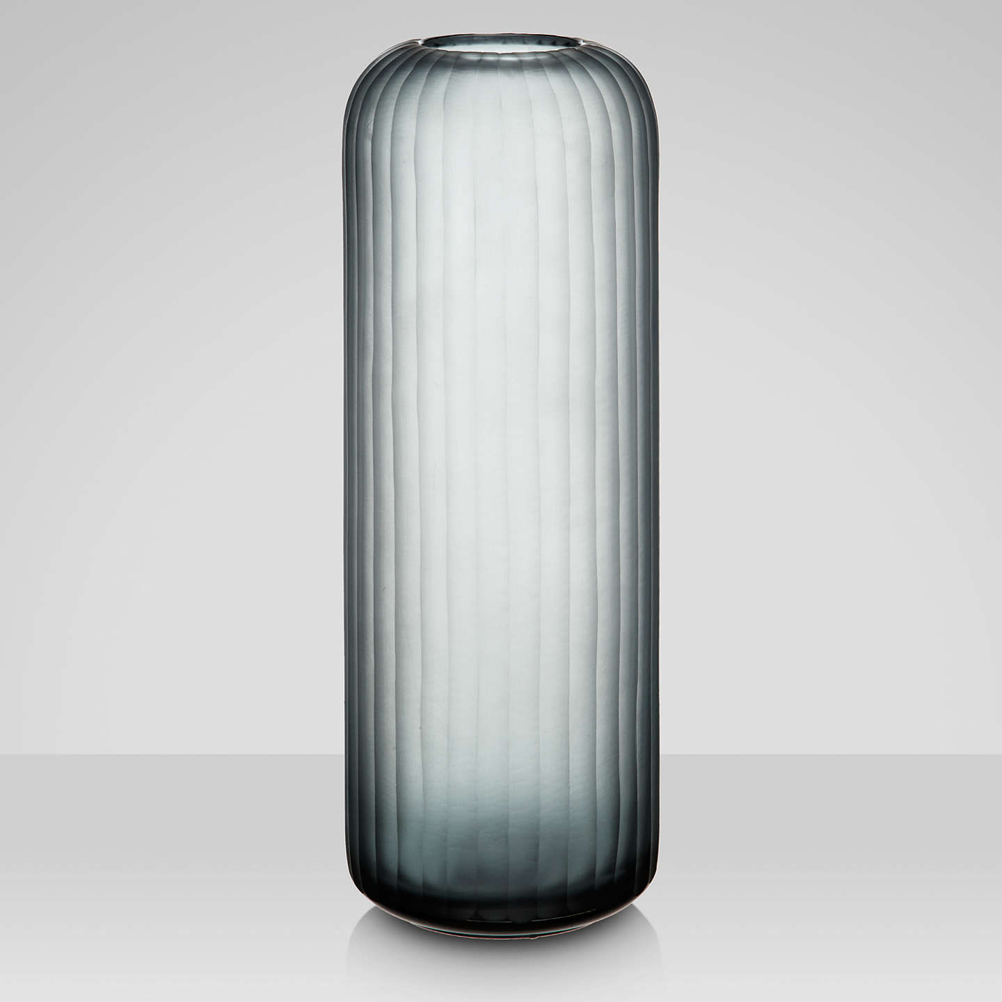 BuyJohn Lewis Tall Cut Stripes Vase Online at johnlewis.com