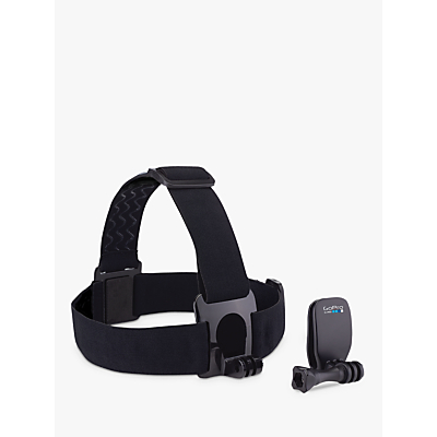 GoPro Head Strap Mount and QuickClip for All GoPros