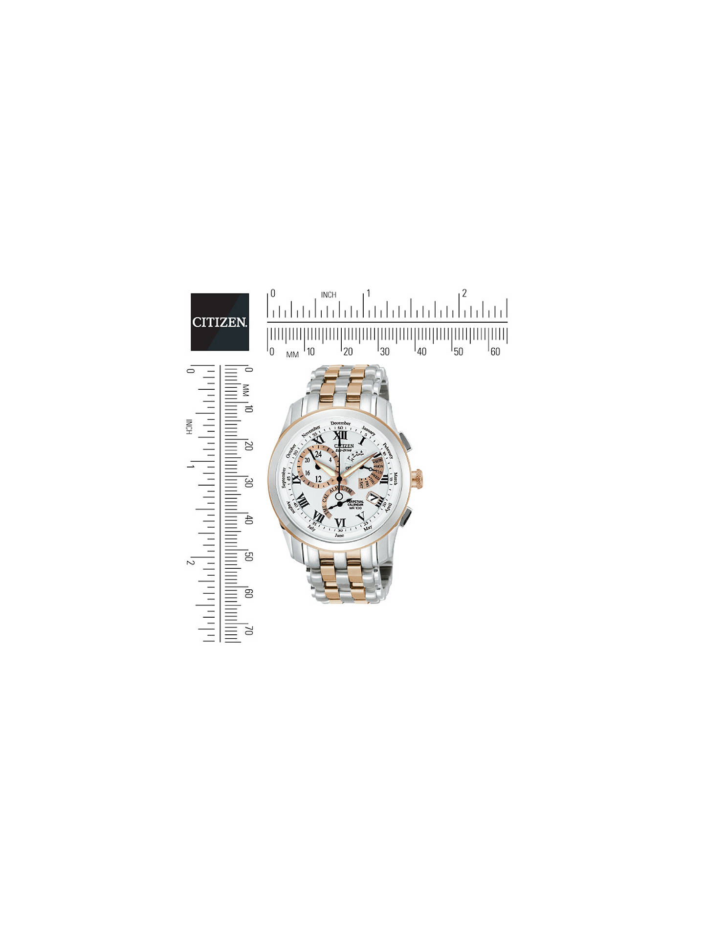 Citizen BL8106-53A Men's Calibre 8700 Alarm Chronograph