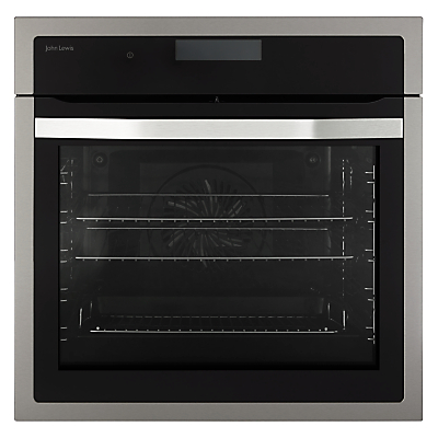 john lewis jlbios617 cookers ovens compare prices. Black Bedroom Furniture Sets. Home Design Ideas