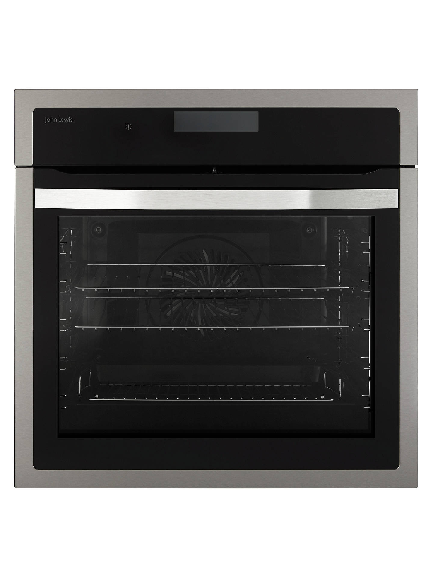 BuyJohn Lewis & Partners JLBIOS617 Single Oven, Stainless Steel Online at  johnlewis. ...