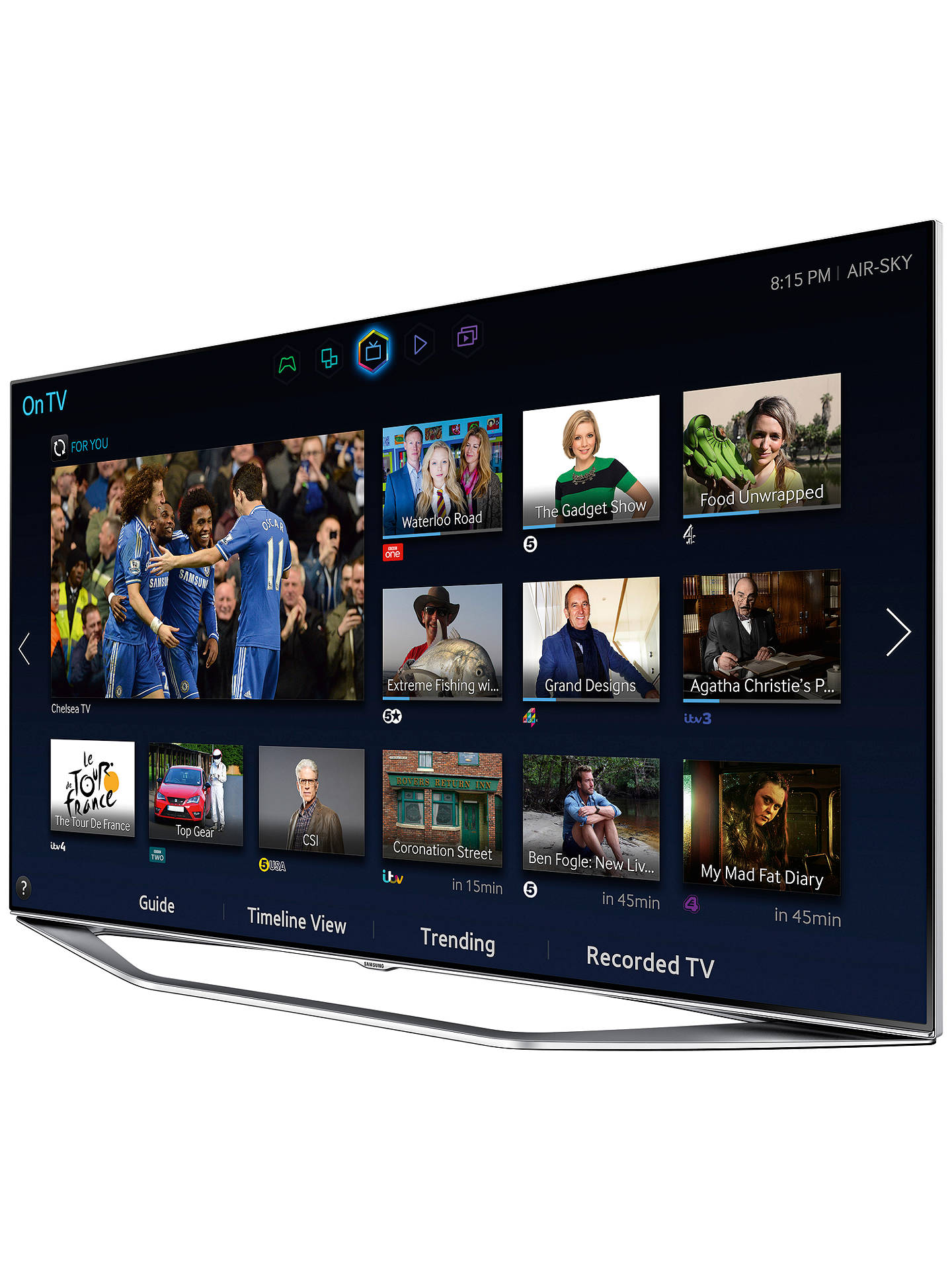 "Buy Samsung UE40H7000 LED HD 1080p 3D Smart TV, 40"" with Freeview/Freesat HD, Voice Control and 2x 3D Glasses Online at johnlewis.com"
