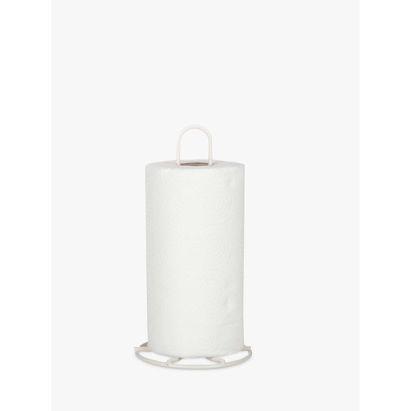 John Lewis Kitchen Roll Holder, Cream at John Lewis