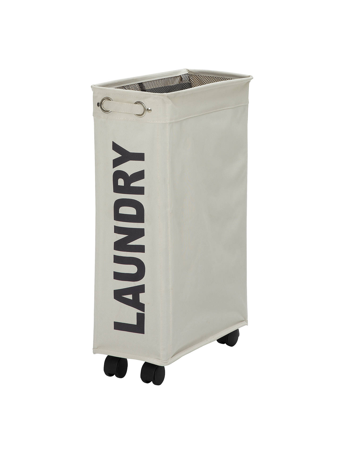 Wenko Slimline Laundry Hamper At John Lewis Amp Partners