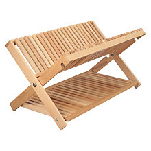 Buy John Lewis Croft Collection Beech Dish Drainer Online at johnlewis.com