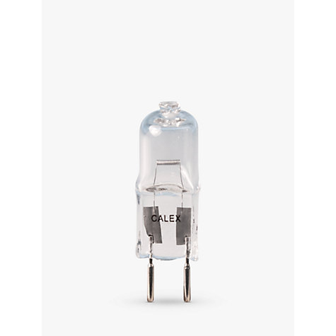 Buy Calex 35W GY6.35 Eco Halogen Capsule Bulb Online at johnlewis.com