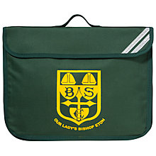 Buy Our Lady's Bishop Eton Primary School Book Bag, Green Online at johnlewis.com