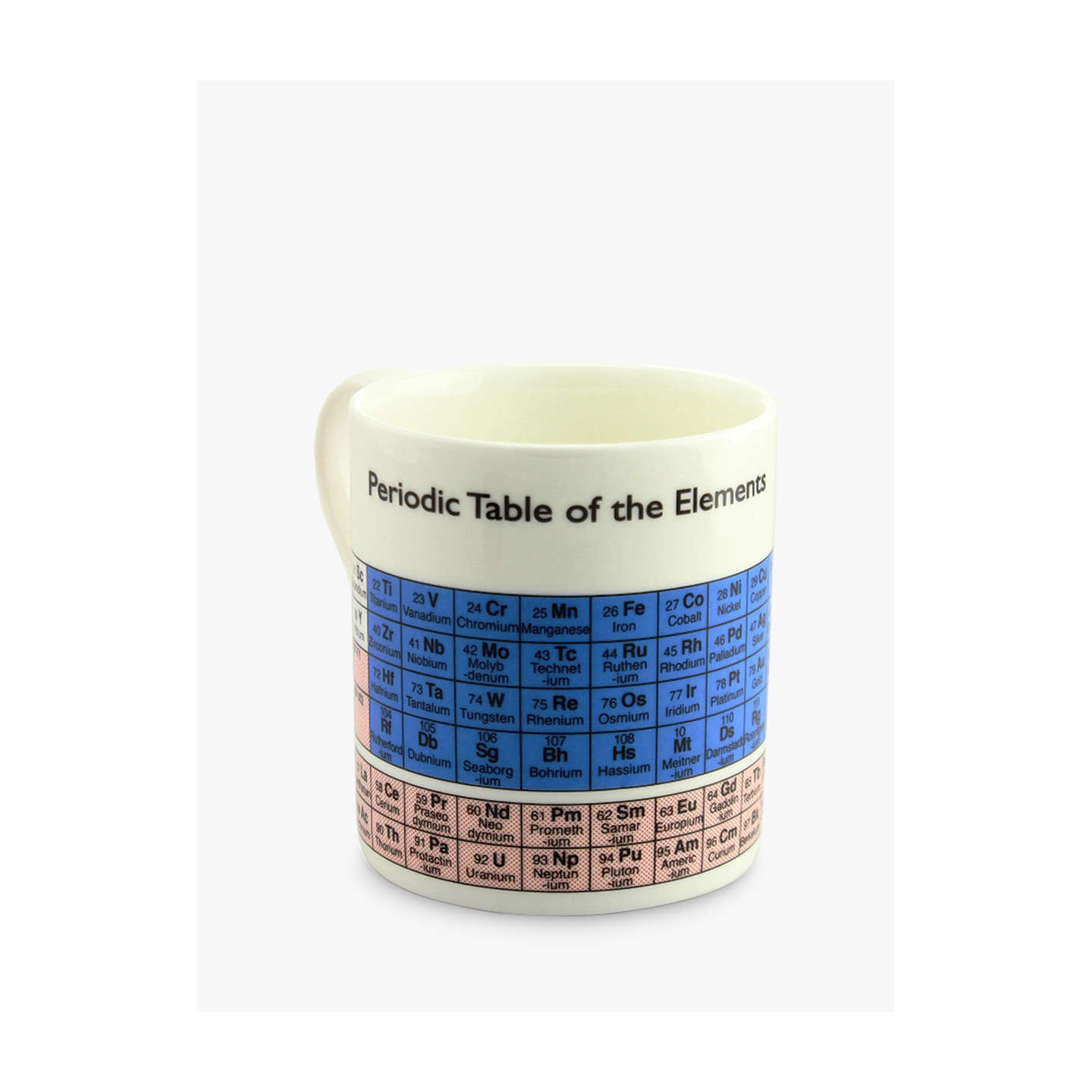 buymclaggan smith educational periodic mug 450ml online at johnlewiscom - Periodic Table Mug Australia