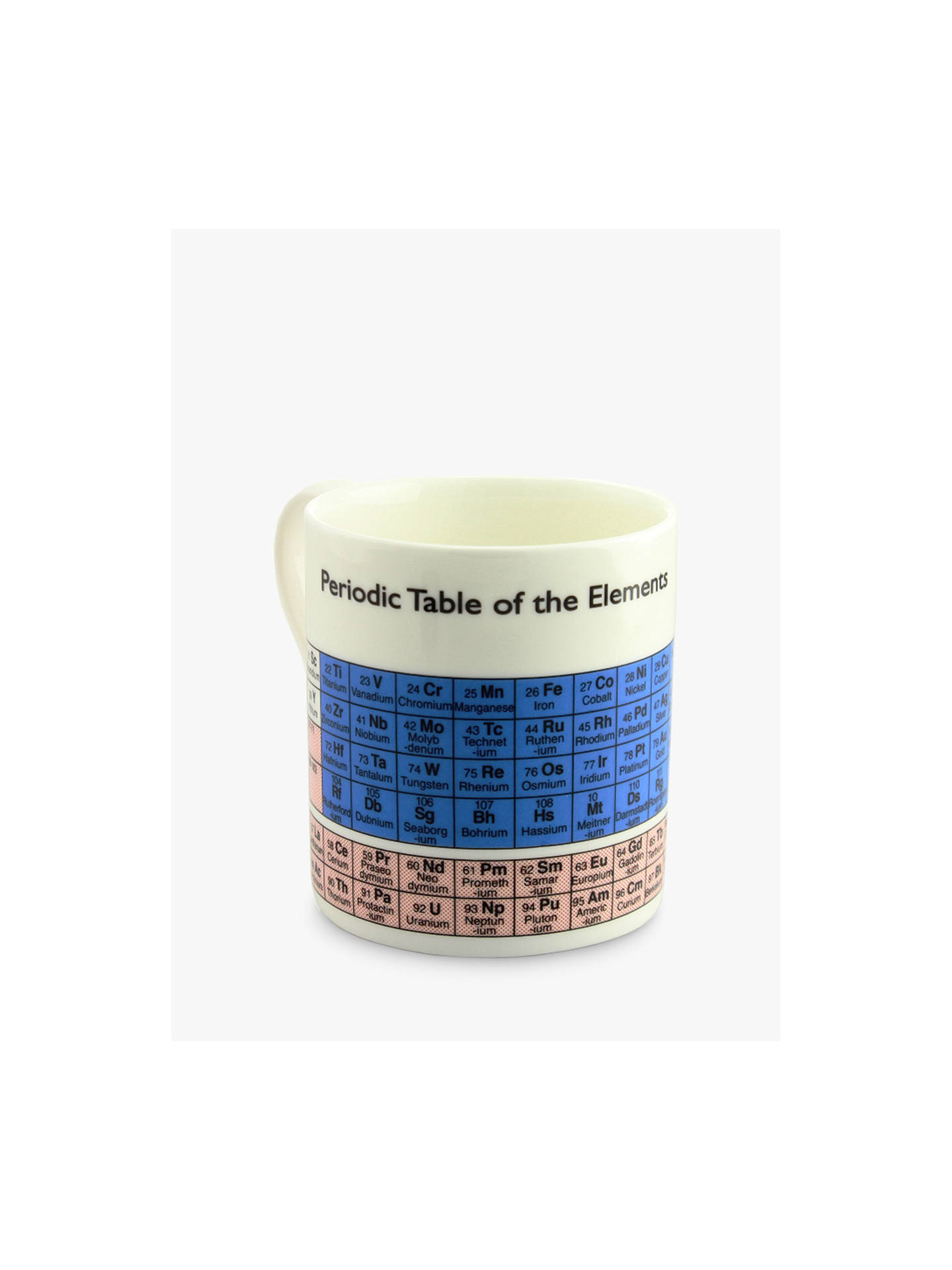 Buy McLaggan Smith Educational Periodic Mug, 350ml Online at johnlewis.com
