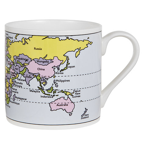 Buy McLaggan Smith Educational World Map Mug Online at johnlewis.com
