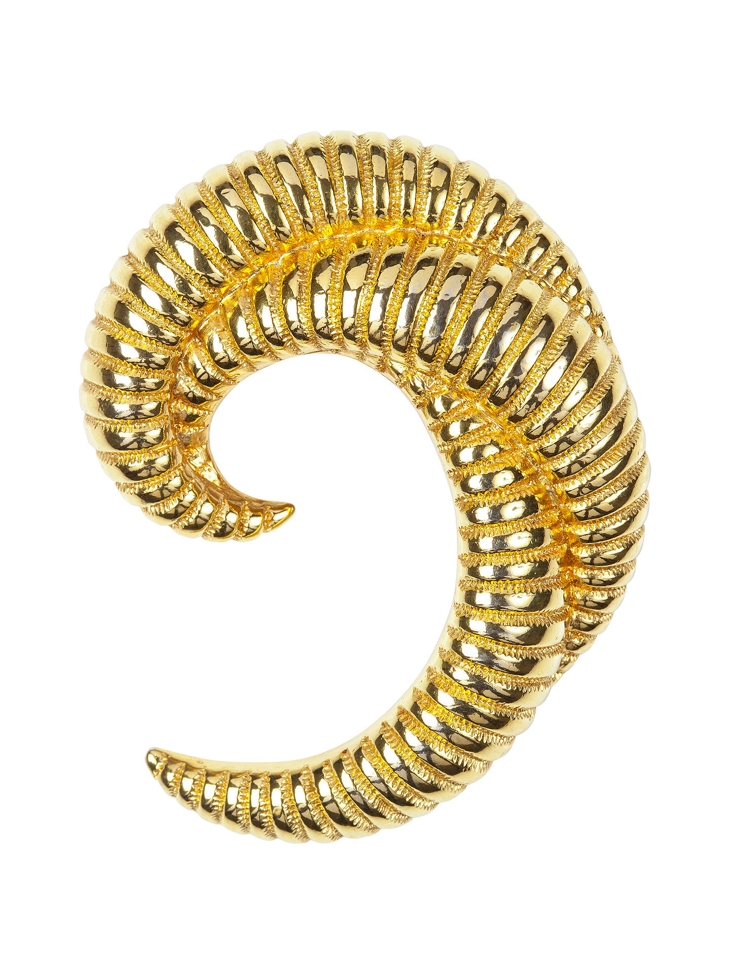 c2c160b3597401 Buy Susan Caplan Vintage 1960s Monet Gold Plated Crescent Brooch