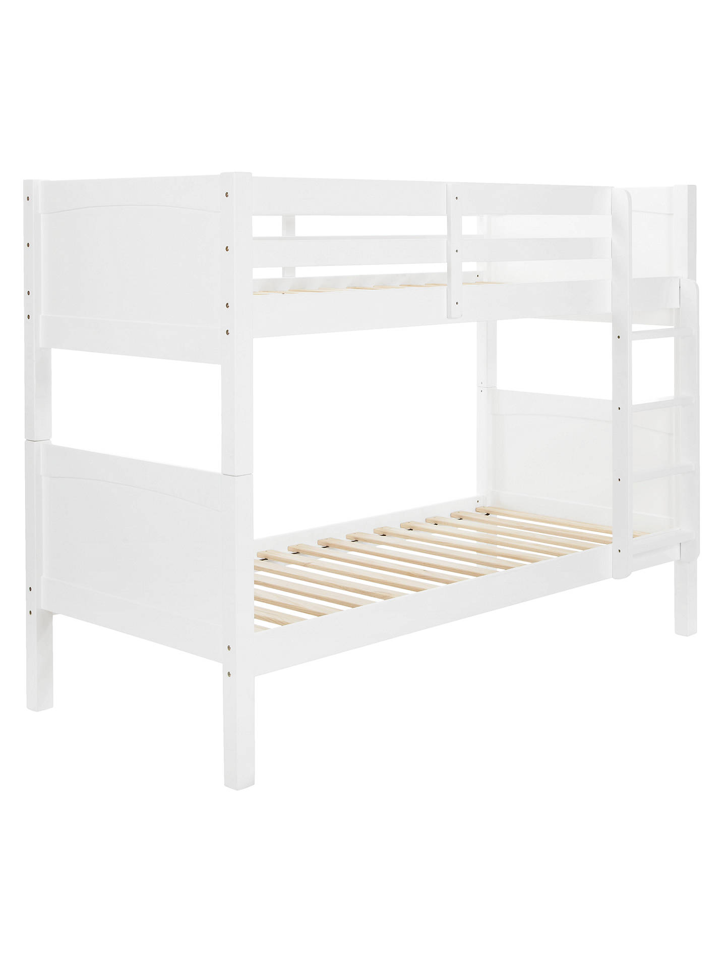 Buy little home at John Lewis Hickory Bunkbed, White Online at johnlewis.com