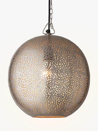 Buy John Lewis & Partners Lyra Etched Metal Ceiling Light Online at johnlewis.com