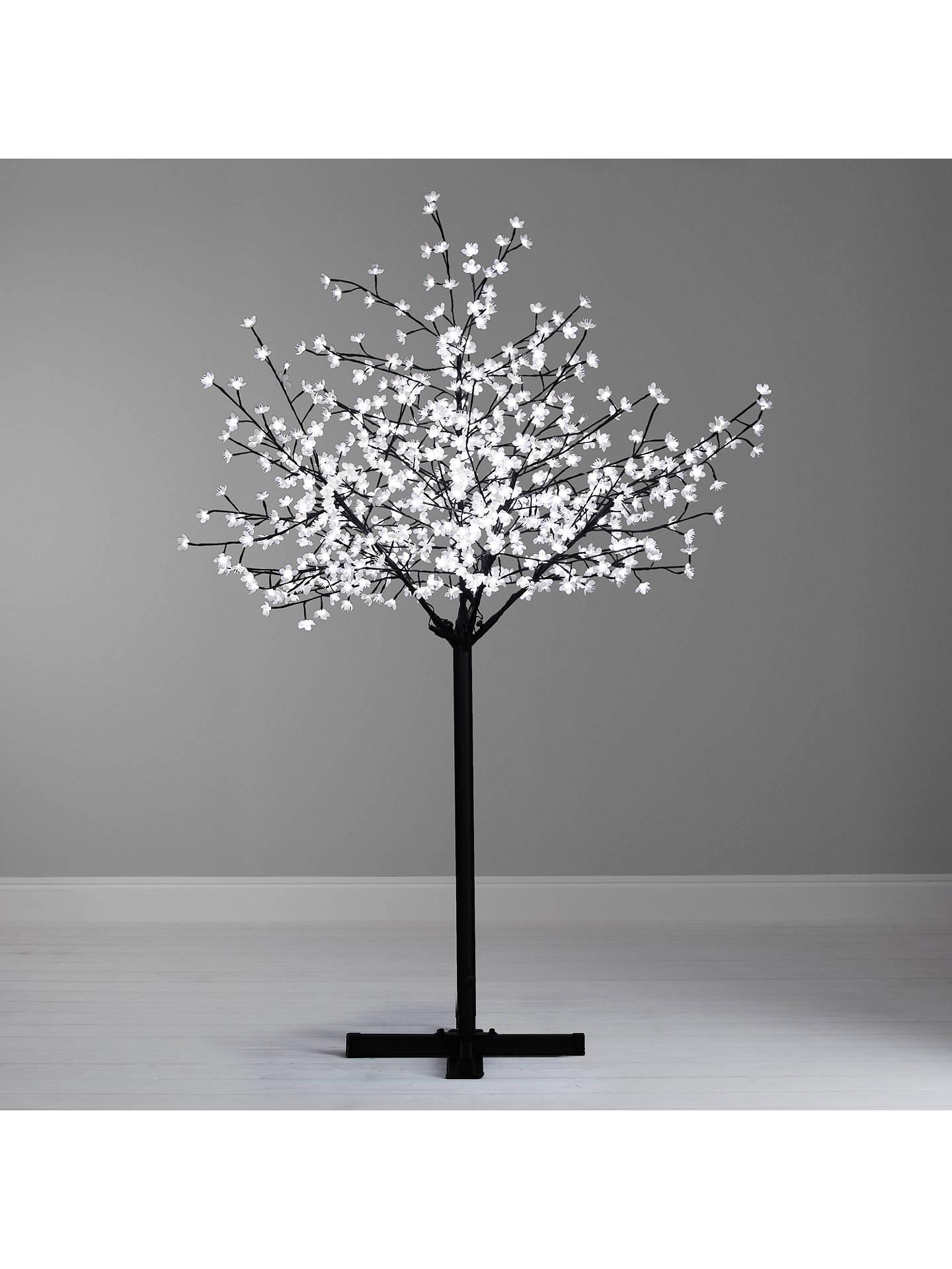 John Lewis Pre Lit Cherry Blossom Christmas Tree Warm