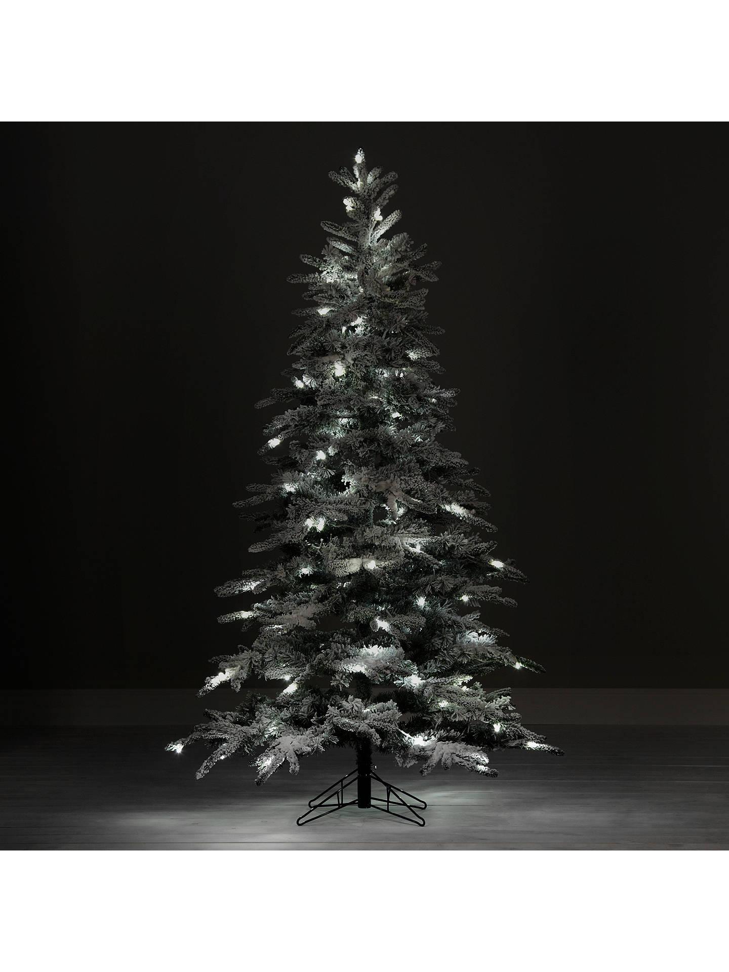 Mountain Christmas Tree.John Lewis Pre Lit Snowy Mountain Pine Christmas Tree 7ft