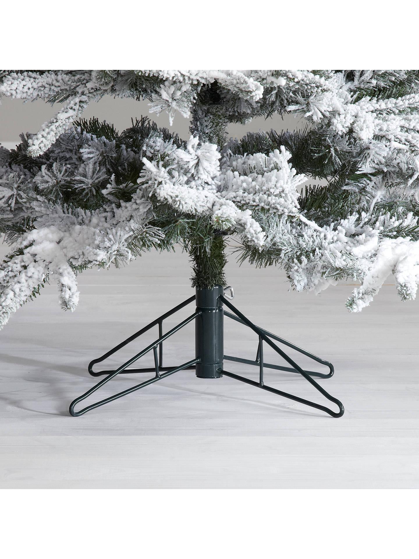 John Lewis Pre-Lit Snowy Mountain Pine Christmas Tree, 7ft at John Lewis & Partners