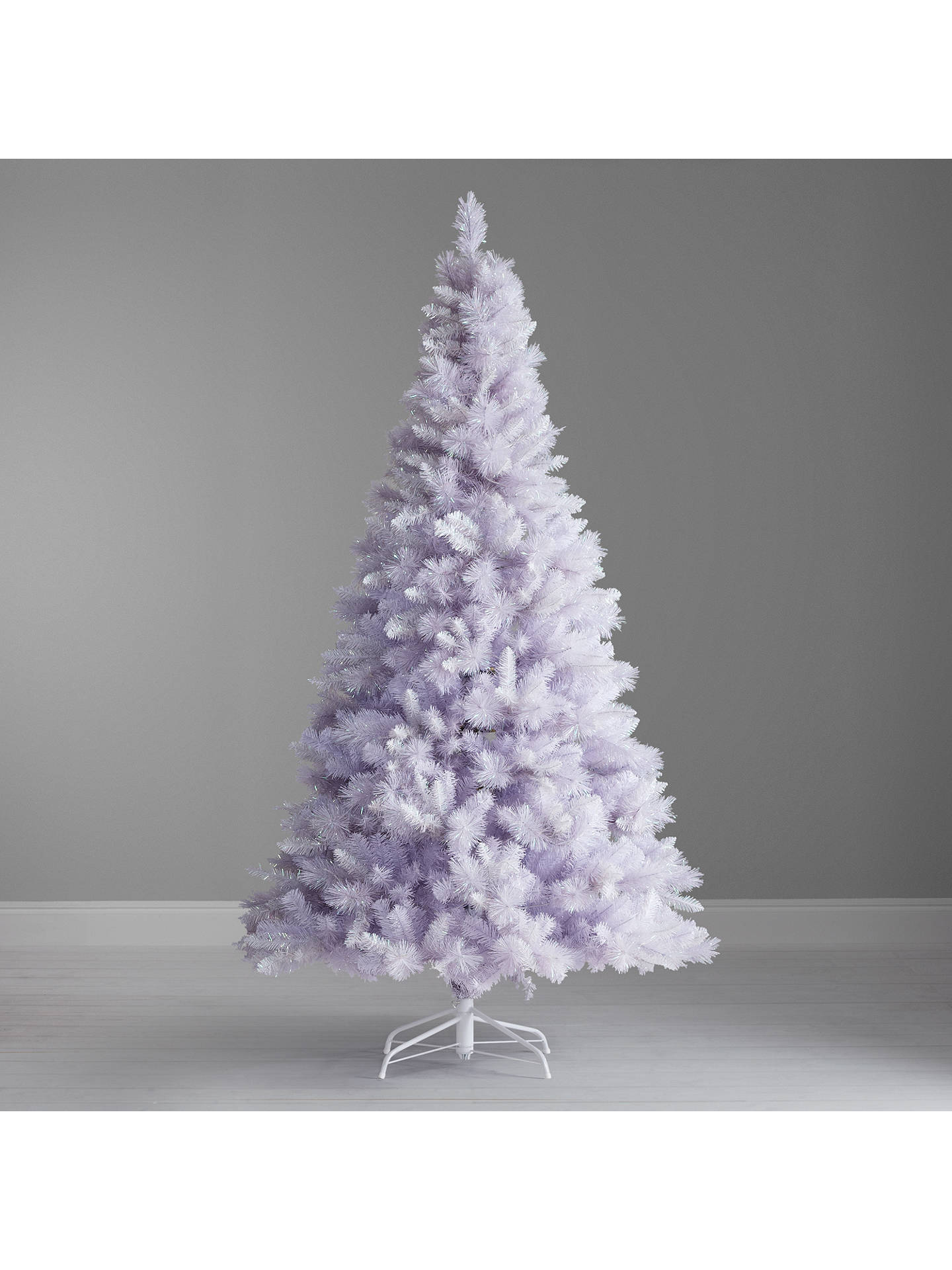 John Lewis Pre Lit Newport White Christmas Tree 7ft At John Lewis