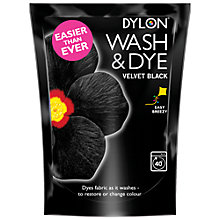 Buy Dylon Wash 'n' Dye Machine Dye Online at johnlewis.com