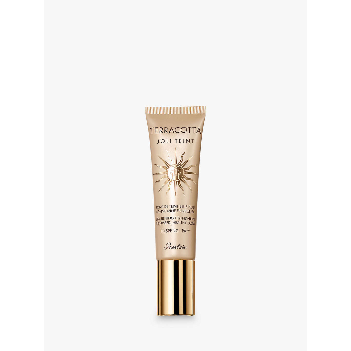 BuyGuerlain Terracotta Joli Teint Foundation, Ebony Online at johnlewis.com