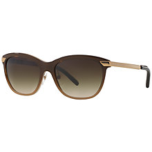 Buy Burberry BE4169 Gradient Square Sunglasses Online at johnlewis.com