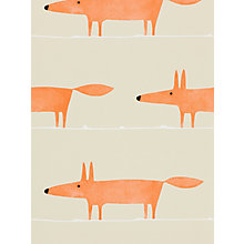 Buy Scion Mr Fox Paste the Wall Wallpaper Online at johnlewis.com