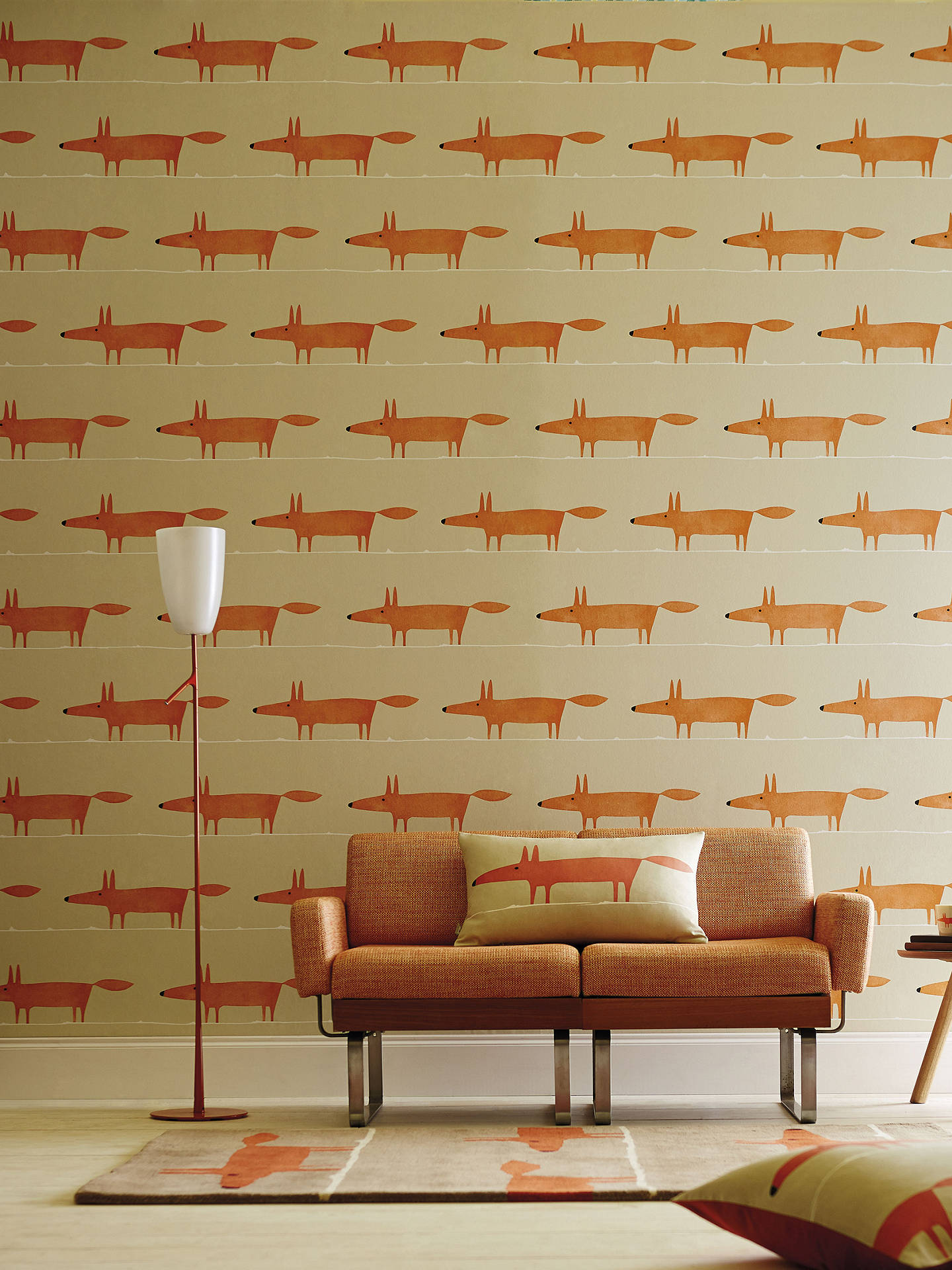 BuyScion Mr Fox Paste the Wall Wallpaper, 110847 Online at johnlewis.com