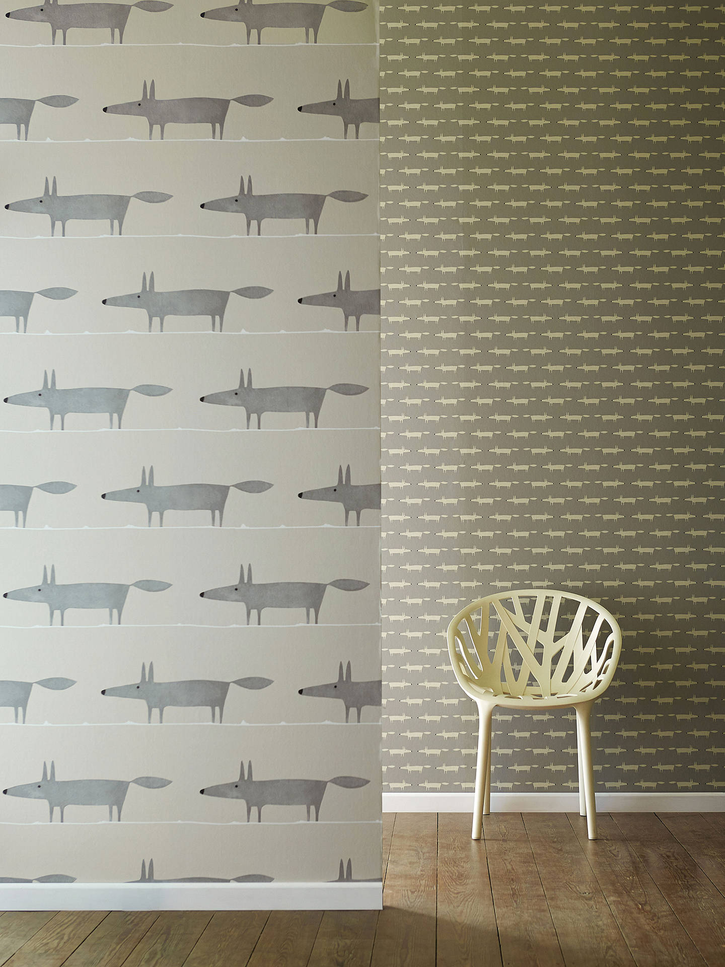 Buy Scion Little Fox Paste the Wall Wallpaper, 110838 Online at johnlewis.com