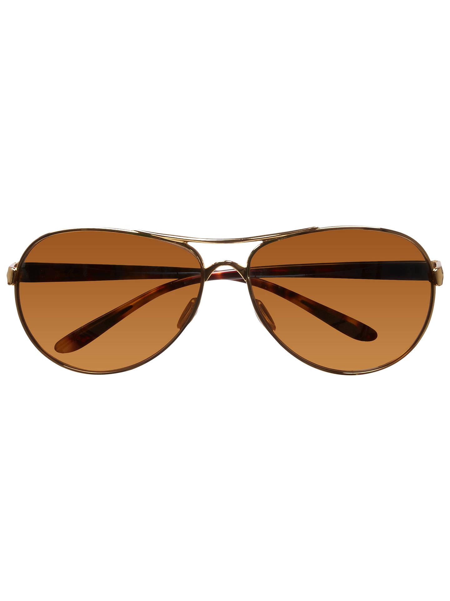 Oakley OO4079 Feedback™ Aviator Metal Frame Sunglasses, Polished ...
