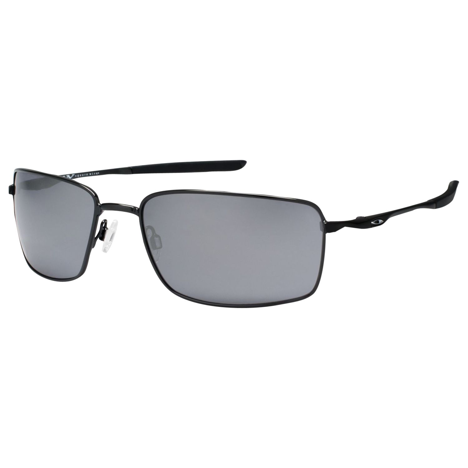 f027438659 Oakley OO4075 Square Wire™ Rectangular Frame Sunglasses at John Lewis    Partners
